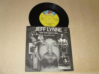 "Jeff Lynne (7"") - Doin' That Crazy Thing UK-77"