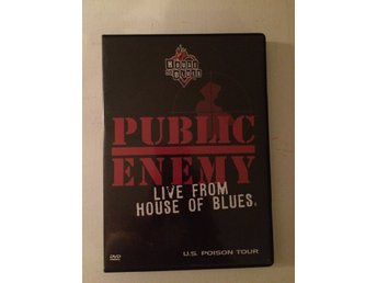 PUBLIC ENEMY - LIVE FROM HOUSE OF BLUES (DVD)