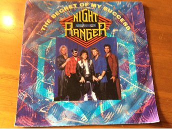 "NIGHT RANGER  The secret of My success  7"" 1987. MCA 258380-7"