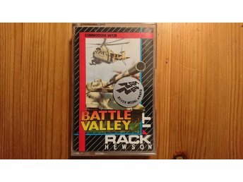 COMMODORE 64 originalspel... BATTLE VALLEY