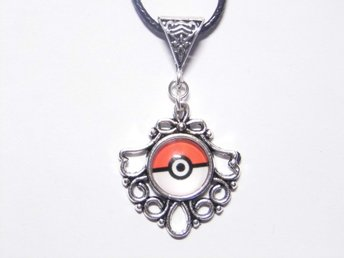 Pokemon Pokeball Halsband / Necklace