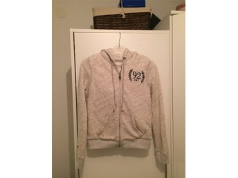 ny hoodie från XS Abercrombie & Fitch sherpa fodrad