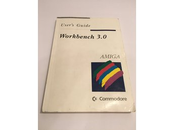 "Datorbok - ""User's Guide - Workbench 3.0"" - Amiga - Commodore - 1992."
