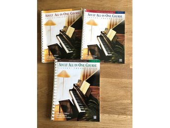 Piano Adult All in One Course Level 1, 2, 3