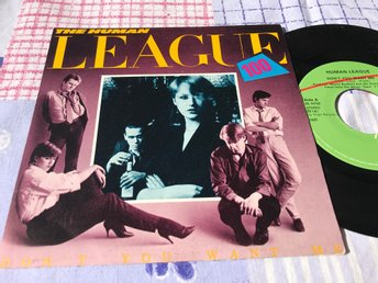 "HUMAN LEAGUE THE - SECONDS 7"" 1981"