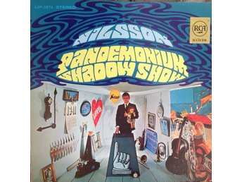 Harry Nilsson LP Pandemonium Shadow Show
