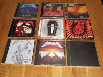 Metallica CD 9 album