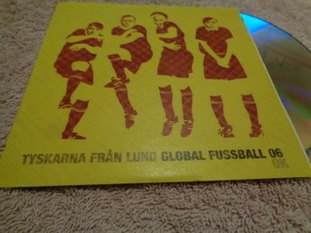 TYSKARNA FRÅN LUND CD PROMO 2006 Global Fussball 2006  SYNTH KLASSIKER