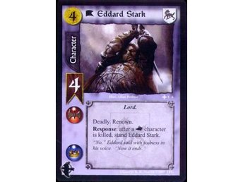 A Game of Thrones: Eddard Stark