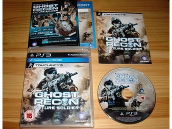 PS3: Tom Clancys Ghost Recon Future Soldier