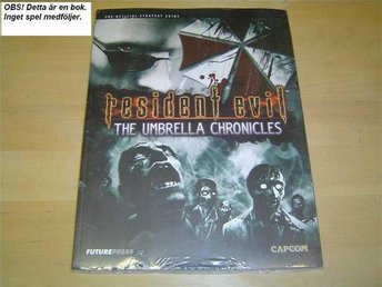 RESIDENT EVIL UMBRELLA CHRONICLES NINTENDO WII GUIDE *NYTT*