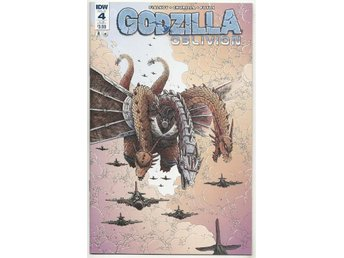 Godzilla: Oblivion # 4 SUB Cover NM Ny Import