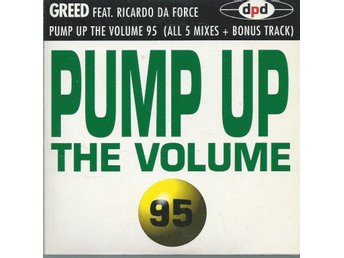 GREED - PUMP UP THE VOLUME 95 (CD MAXI/SINGLE )
