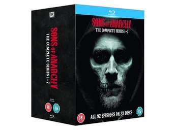 SONS OF ANARCHY - Complete Series 1-7 [Blu-ray] Charlie Hunnam, Katey Sagal