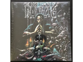 DANZIG The Lost Tracks Of Danzig 2LP Grön/Blå VINYL Misfits Samhain