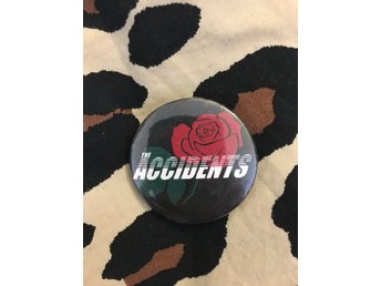 The Accidents pin. Punk rock rockabilly