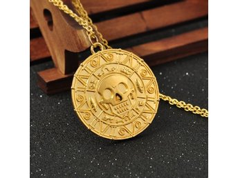 Pirate Aztec gold Halsband necklace