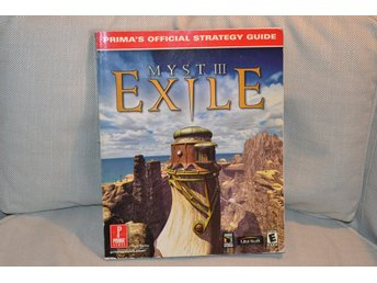 Myst III: Exile 3 Strategy Guide, m. Kartor osv Prima (2001) Fint Skick