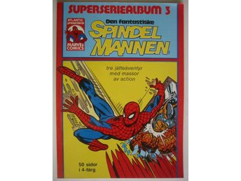 Spindelmannen Superseriealbum - 3. VF-NM