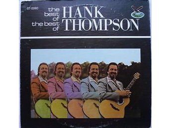 LP The best of the best of Hank Thompson