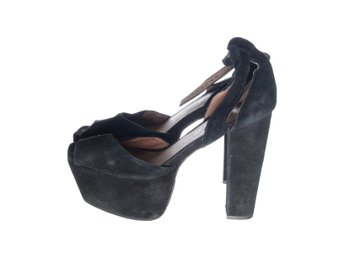 Campbell, Pumps, Strl: 39, Svart
