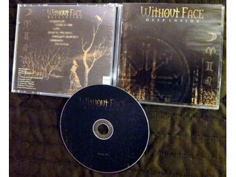 Without Face Deep Inside CD progressive metal band