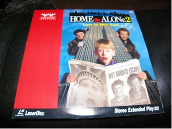 Home Alone 2 - Special Widescreen edition  - 1st  Laserdisc
