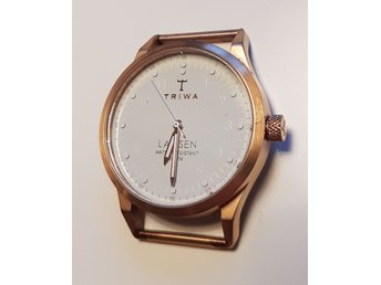 Triwa ivory Lansen brushed rose gold