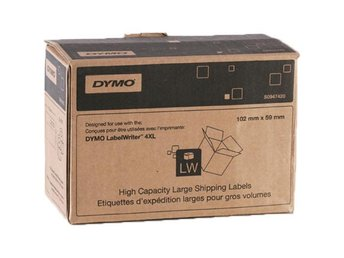 DYMO High Capacity Large Shipping 102x59mm (2 rolls)