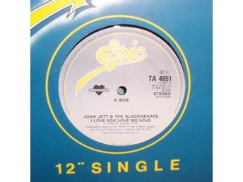 "JETT JOAN - I love you love , UK 12""MAXI 1984 , ,"