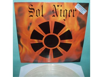 "SOL NIGER - Dark Light , RARE 12""EP clear vinyl 1990 , industrial"