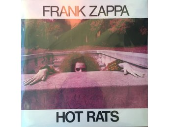 FRANK ZAPPA - HOT RATS NY LP GATEFOLD REMASTERED