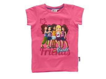 LEGO FRIENDS, T-SHIRT, ROSA (128)