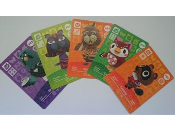 Animal Crossing Amiibo Cards series 4 Nr 302-306