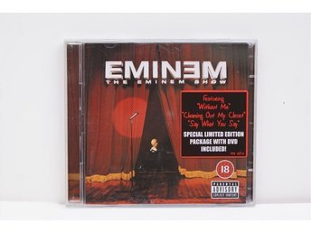 "Eminem ""The Eminem Show"" CD+DVD Ny/ ospelad"