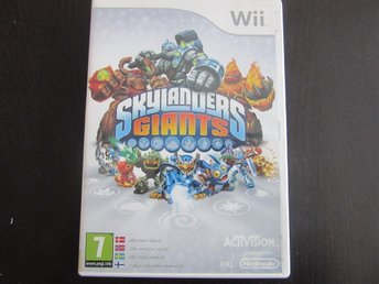 WII spel barn Skylanders Giants