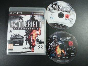 Battlefield : Bad Company 2 Battlefield 3 till Playstation 3 PS3 EU PAL - Torslanda - Battlefield : Bad Company 2 Battlefield 3 till Playstation 3 PS3 EU PAL - Torslanda