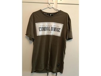 Criminal Damage t-shirt storlek L