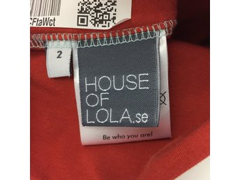 House of Lola, Mössa, Strl: 2, Orange/Svart