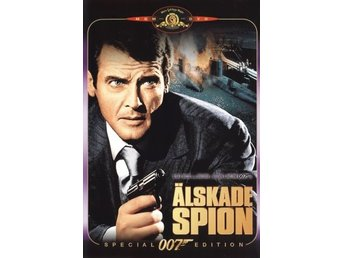 DVD - Älskade spion (The Spy Who Loved Me) (1977) (Ny)