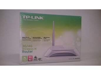 """TP-link TL-MR3220 3G router - Skellefteå - Compatible with LTE/HSPA+/HSUPA/HSDPA/UMTS/EVDO USB modems, tested in the field 3G/4G and WAN connection Backup guarantees an """"Always-online"""" Internet connection Easy wireless security encryption at a push of the WPS button Bandwidth control - Skellefteå"""