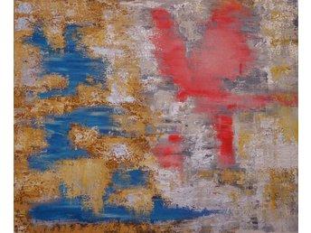 Javascript är inaktiverat. - Huddinge - Abstrakt handmålad tavla från år 2015 med akrylfärger på canvasduk av en konstnär i Stockholm född 1995. Passar bäst in i ljusare miljöer anser jag. Lämpar sig för alla tänkbara rum och kontorsmiljöer. Stort utrymme för att tolka  - Huddinge
