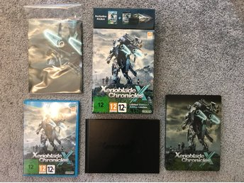 Xenoblade chronicles x limited edition till wii u