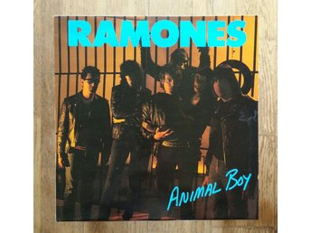 Ramones, Animal Boy, Record = Near Mint/Excellent+