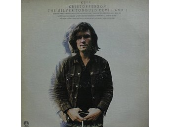 LP Kris Kristofferson The silver tongued deviil and I