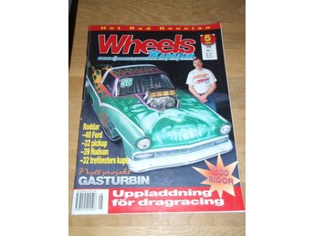 Wheels 2001 nr 5 Roddar Ford Hudson Gasturbin mm