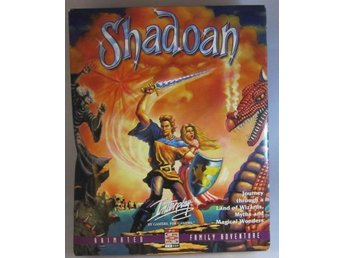 Shadoan Big Box Retro Pc spel ( Interplay , Fallout )