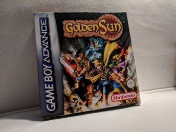 Golden Sun GAMEBOY ADVANCED