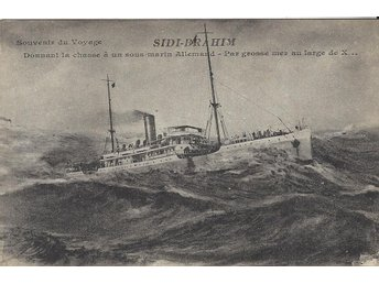 "French Auxiliary Cruiser "" SIDI BRAHIM "" by big sea"