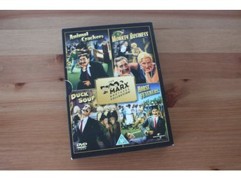 Bröderna Marx Dvd (Animal Crackers, Duck Soup, Horse Feathers, Monkey Business)